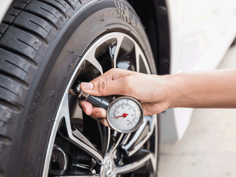 service pression pneu point s